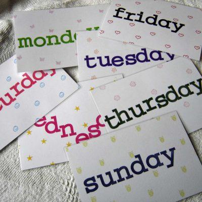 daysoftheweek